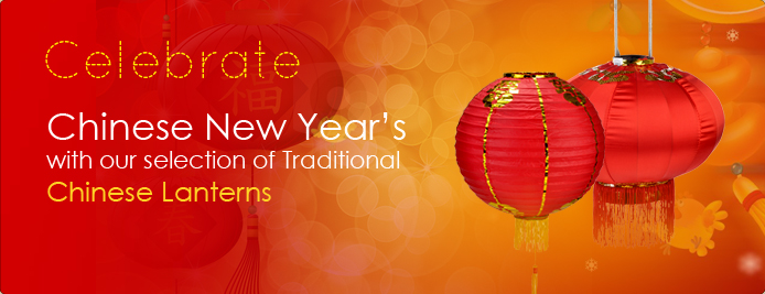 Celebrate Chinese New Years with Our Selection of Traditional Chinese Lanterns